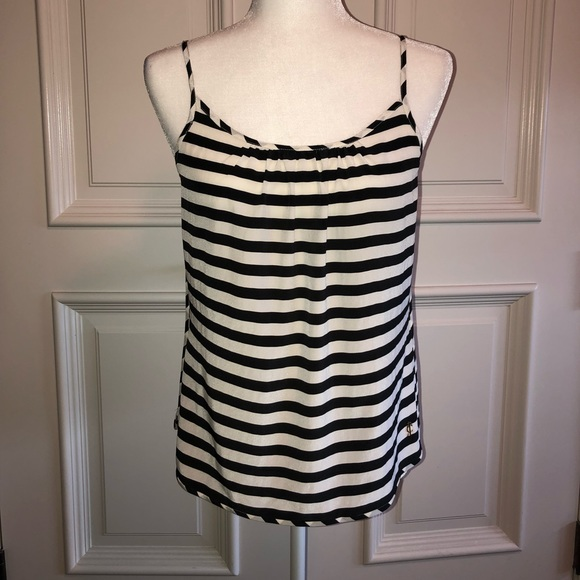 juicy couture Tops - Juicy couture rayon striped tank top